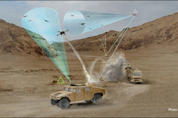 Darpa Mobile Force Protection system concept