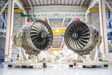Rolls-Royce Seltar Trent production