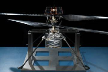 NASA Mars Helicopter Scout