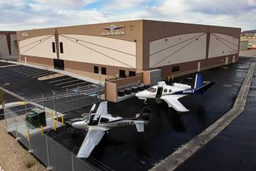 All In Aviation/Lone Mountain Aviation Complex at HND
