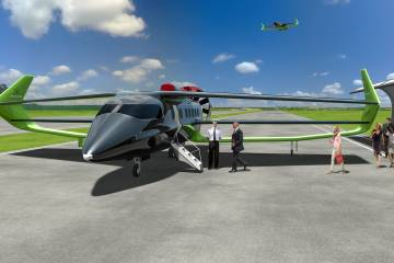Faradair BEHA hybrid-electric aircraft