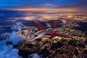 Aerion Supersonic AS2 (Photo Aerion Supersonic)