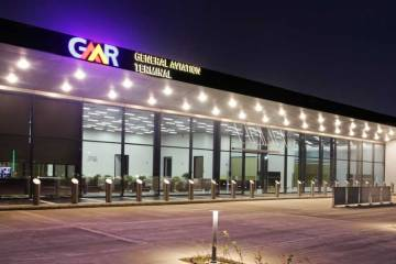 New GA terminal at India's Delhi International Airport