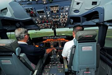 CAE training in simulator