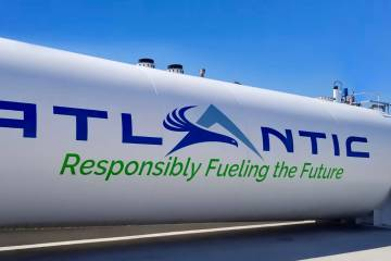 Altantic Aviation Fuel Farm Tank