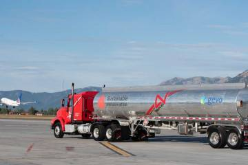 SAF Tanker on airport