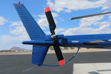 Van Horn Aviation's new tail rotor system for the Airbus Helicopters AS350/H125
