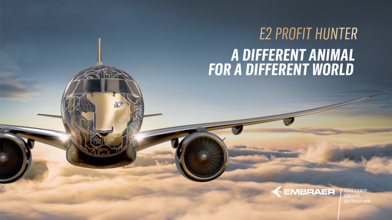Embraer's E2 Profit Hunter is A Different Animal for a Different World