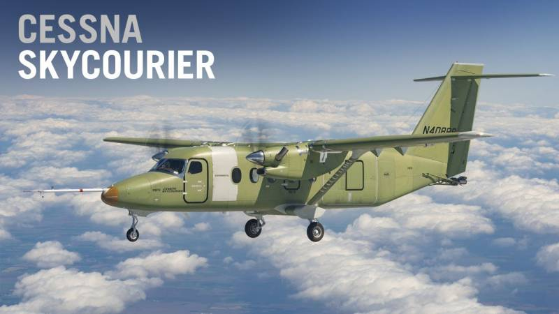 Textron's Cessna SkyCourier Aircraft Makes Its First Flight