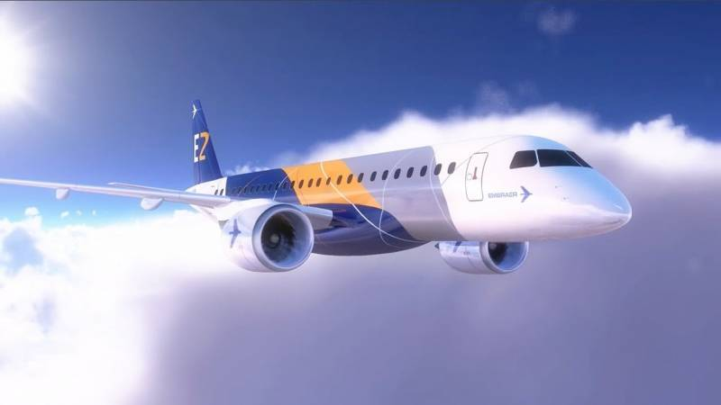 Embraer Unveils New Cabin Concept for the E-Jet Family