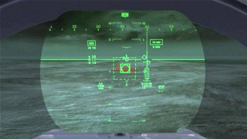 Get a Pilot's Eye View of the F-35 Head-Up Display