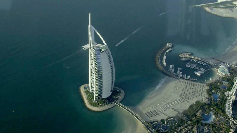 Flying Low Over Dubai in a Seawings Seaplane
