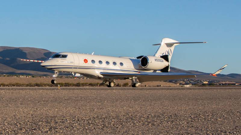 Gulfstream's New G500 Jet Makes Debut at NBAA Show in Las Vegas