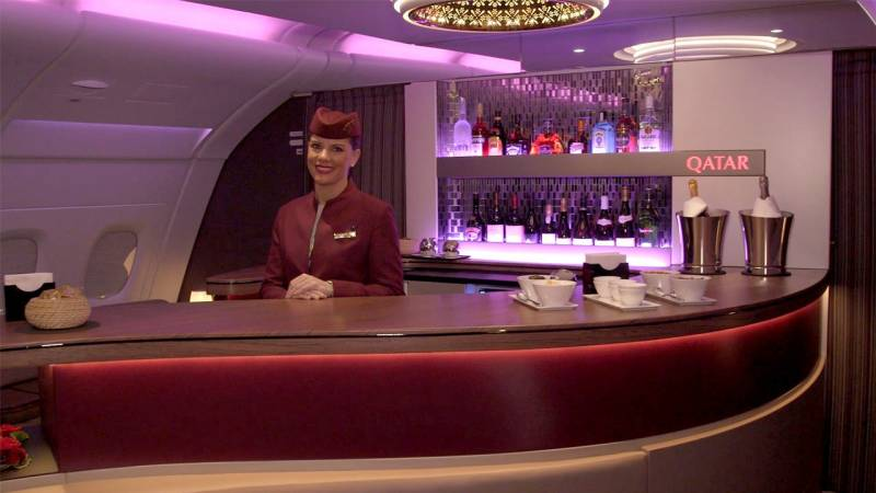 See How Qatar Airways' Airbus A380 Delivers Ultra-Luxurious Air Travel