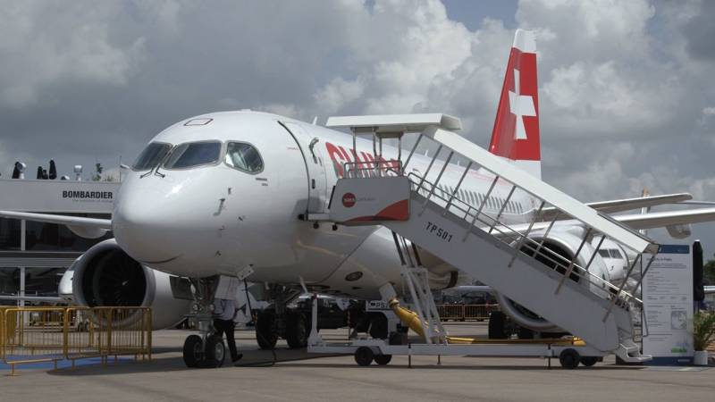 Bombardier CSeries Airliner Nears Entry-Into-Service with Swiss