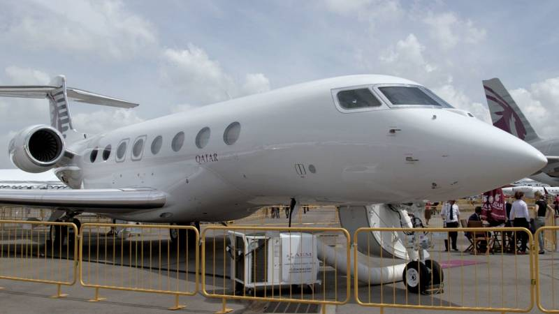 Beyond First Class in Qatar Executive's Gulfstream G650ER Private Jet
