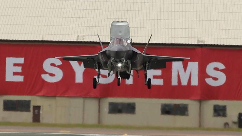 F-35B Shows Its Mettle to Britain's Top Military Brass at RIAT Show — AINtv Express