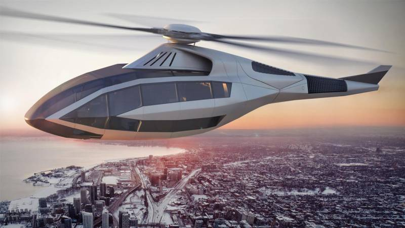 Bell's FCX-001 Concept Helicopter Showcases Future Technology