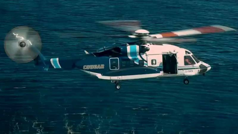 Cougar Helicopters Operates Nine Sikorsky S-92s