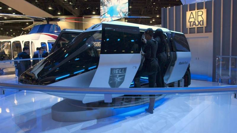 Bell Flight Gets Serious about eVTOL with its Urban Air Taxi Concept