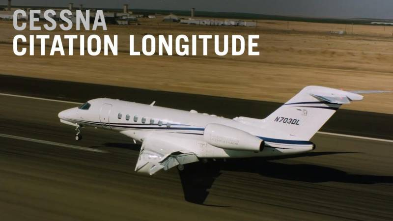 Spotlight on the New Cessna Citation Longitude