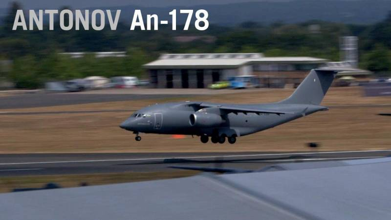 Antonov's An-178 Shows Off Its Maneuverability at Farnborough Airshow
