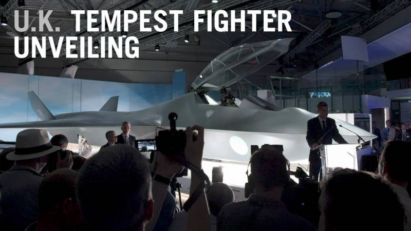 U.K.'s New Tempest Fighter Jet Revealed
