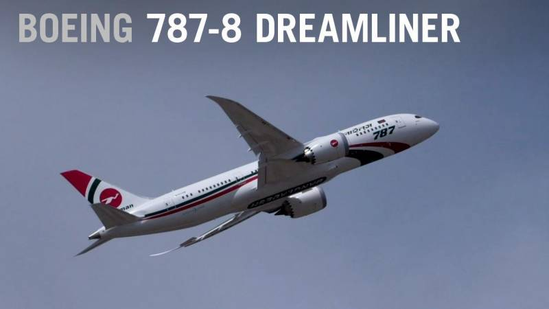 Biman Bangladesh Airlines Boeing 787-8 Dreamliner Flying at Farnborough Airshow