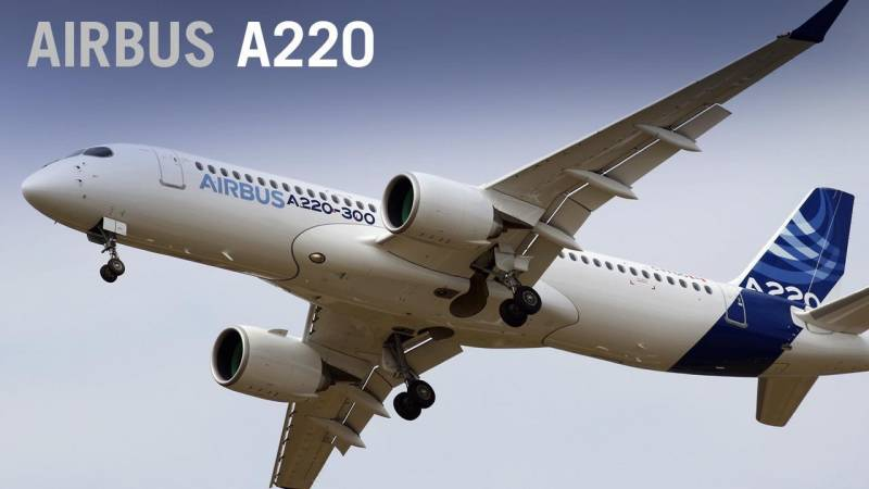 Airbus Debuts A220, Rebranding the Bombardier CSeries Airliner
