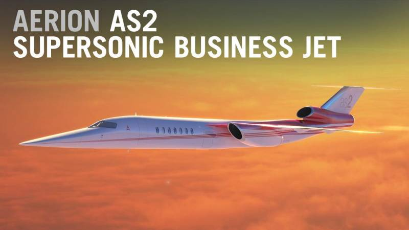 Aerion Expects to Fly the First Supersonic Business Jet by 2023