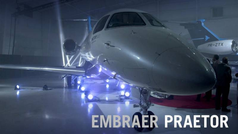 Embraer Launches New Praetor 500 and 600 Business Jets
