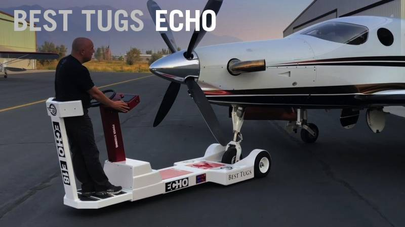 Best Tugs Reinvents the Aircraft Tug with High Tech Echo Line