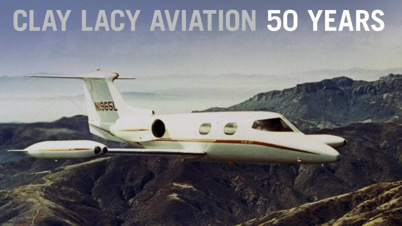 Clay Lacy Aviation Celebrates 50th Anniversary and Looks to the Future