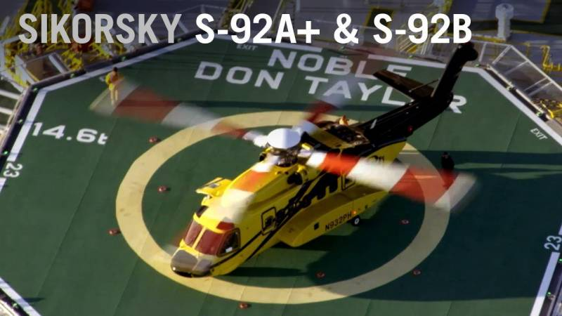 Sikorsky Launches New S-92A+ and S-92B Variants