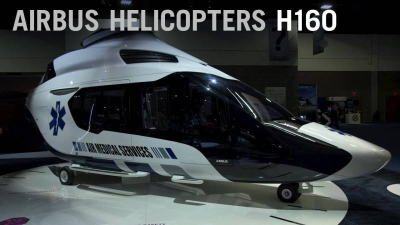 Airbus Pitches the H160 Helicopter to the EMS Market