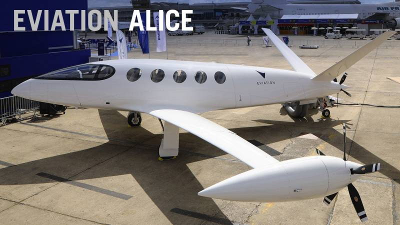Eviation's All-Electric Alice Regional Airliner Secures a Major Launch Order