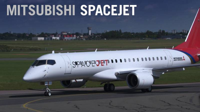 Mitsubishi Aircraft Rebrands MRJ as SpaceJet