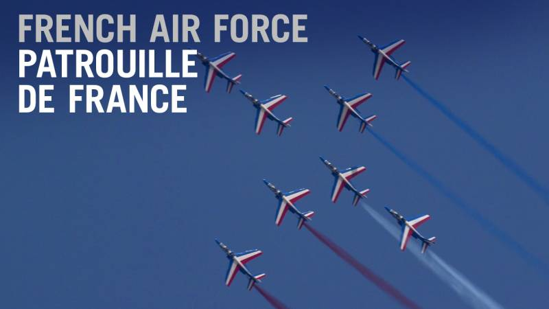 The French Air Force's Patrouille de France Aerobatic Display Team Paints the Dubai Skies - AIN