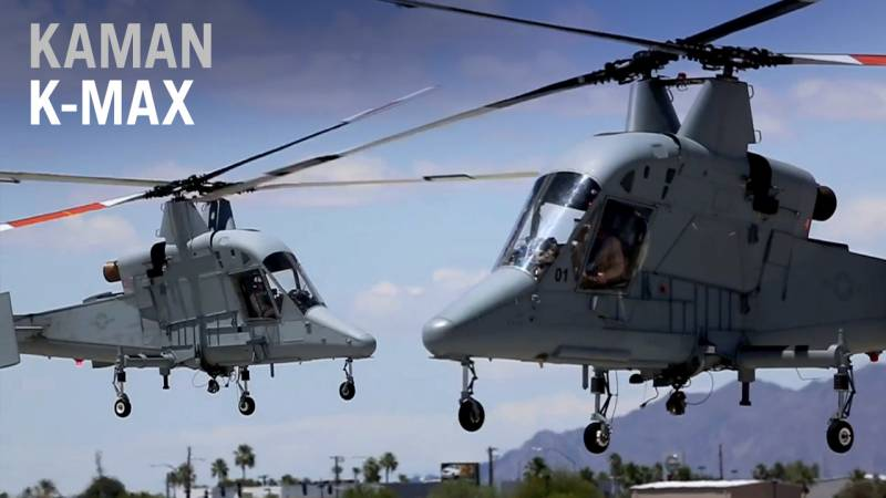 Kaman Offers Its K-Max Unmanned Helicopter to the Commercial Market - AIN