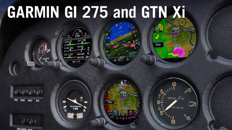 Garmin's New GI 275 and GTN Xi Avionics Offer Upgrade Path for Legacy Aircraft