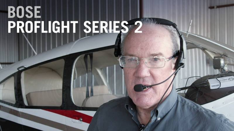 Bose ProFlight Series 2 Pilots' Headset Review - AIN Gadget Central