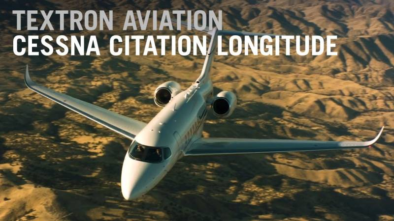 Flying Cessna's Citation Longitude Business Jet