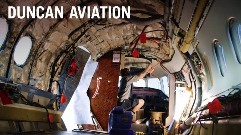 Falcon 7X C-Check   Experience and Capabilities Matter at Duncan Aviation