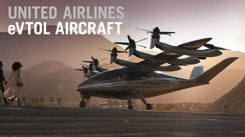 United Airlines to Operate eVTOL Aircraft As SPACs Hover For Merger Deals