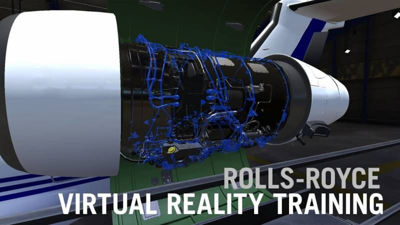 Rolls-Royce's Virtual Reality Jet Engine Familiarization Class is Pandemic-ready
