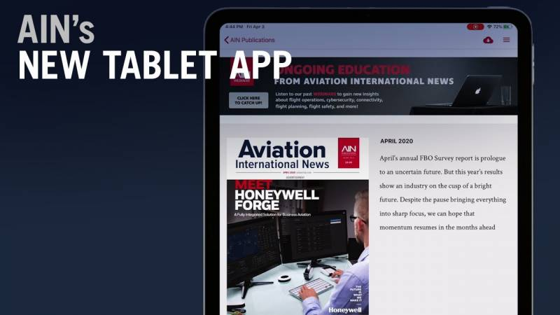 Take a Tour of AIN's New Tablet App