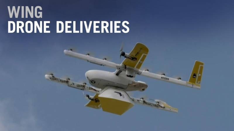 Wing Drone Delivery Service Helping Deliver Critical Supplies During Covid-19 Crisis - AIN