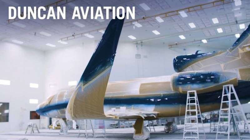 Duncan Aviation Commemorates Its 100th API Falcon Winglet Installation