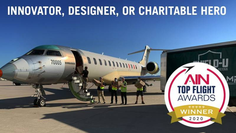 Announcing the Top Flight Awards Innovator, Designer, or Charitable Hero Category Winner