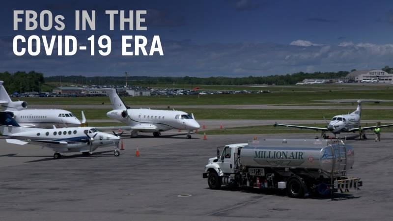 How FBOs are in the Forefront of Business Aviation's Response to Covid-19